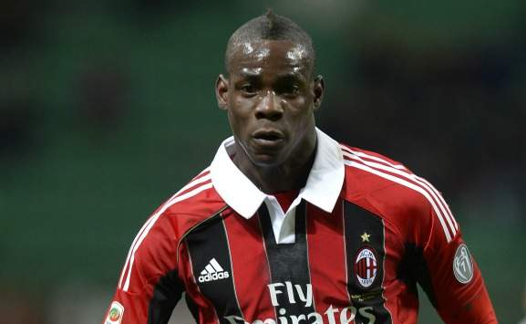 Balotelli in Milan-Udinese (Getty Images)