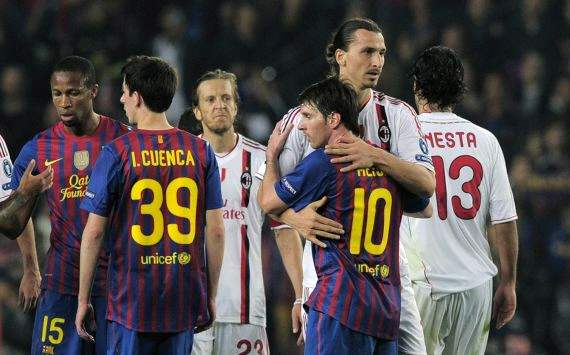 Ibrahimovic: Messi is the best in the world