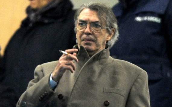 Moratti condemns racist Balotelli chants
