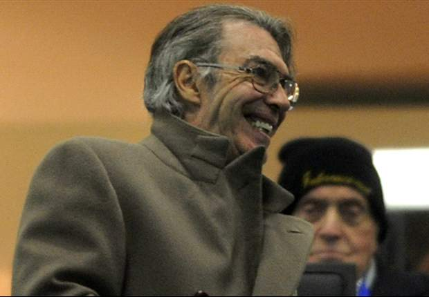 Moratti: Winning Serie A was never Inter's goal
