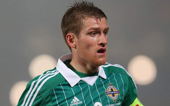 FIFA 2014 World Cup ; Steven Davis; Northern Ireland v Azerbaijan