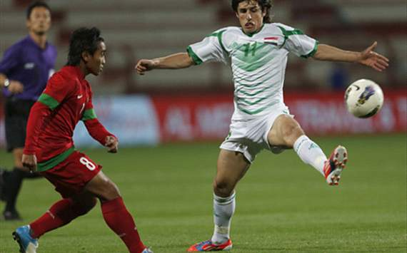 Taufiq (Indonesia) & Humam Tareq (Iraq) - Asian Cup 2015 Qualifiers
