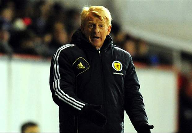 Strachan delighted with 'incredible' first win with Scotland