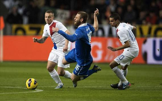 Adam Maher vs Daniele de Rossi, Netherlands - Italy