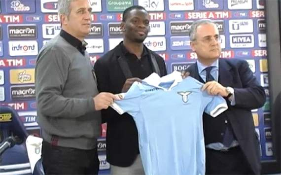 Saha enjoying Lazio challenge