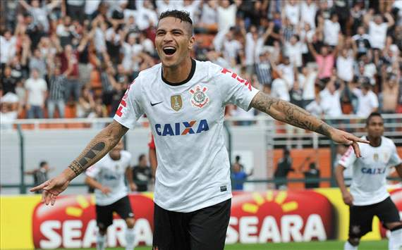 Paolo Guerrero - Corinthians v Oeste