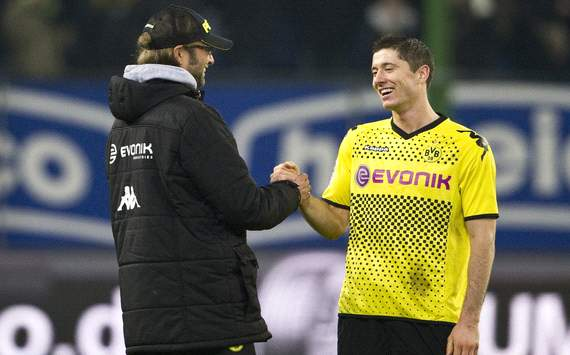 Klopp refusing to be drawn into Lewandowski transfer rumours