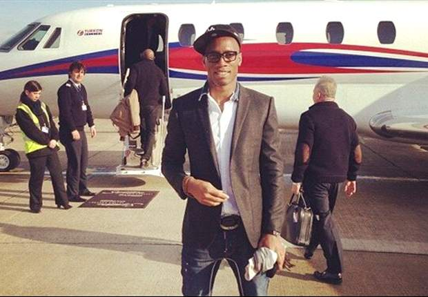 Turkish delight as Drogba arrives in Istanbul