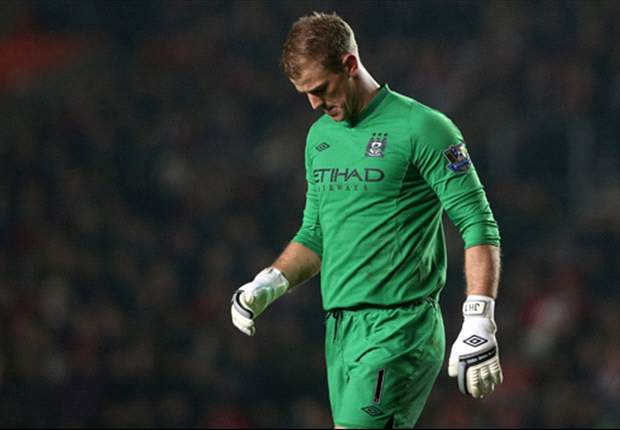 Mancini: Hart has not been good enough for Manchester City this season