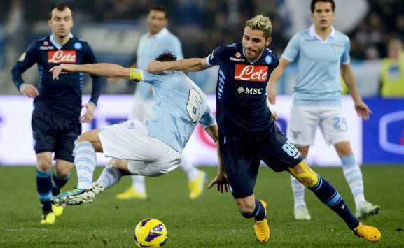 Behrami e Mauri in Lazio-Napoli (Getty Images)