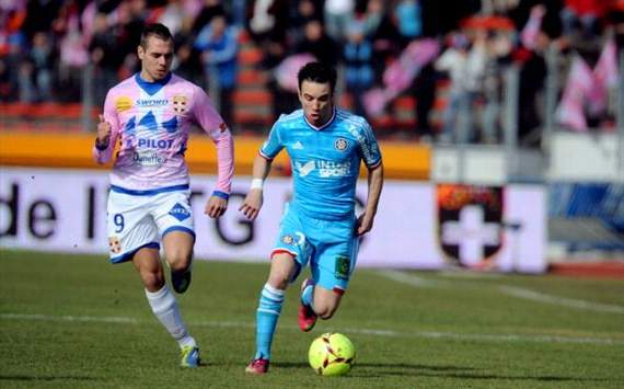 Ligue 1 - Evian gêne l'OM (MT)