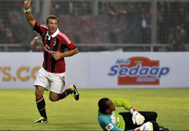 Indonesian club Mitra Kukar looking to sign Shevchenko