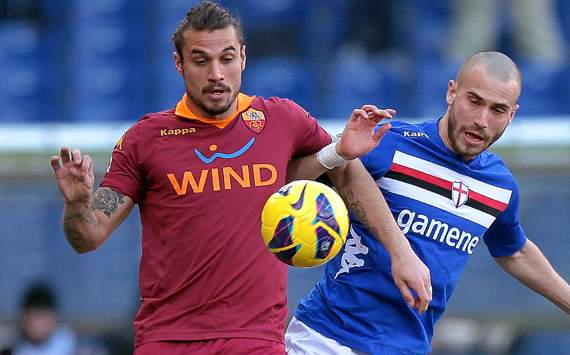 Osvaldo &amp; De Silvestri - Sampdoria-Roma - Serie A
