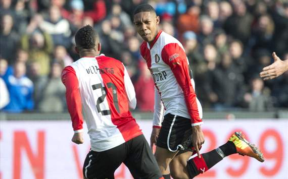 Boetius en Vilhena juichen - Feyenoord vs AZ