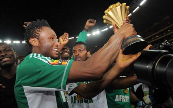 Moses proud as Nigeria seal Afcon