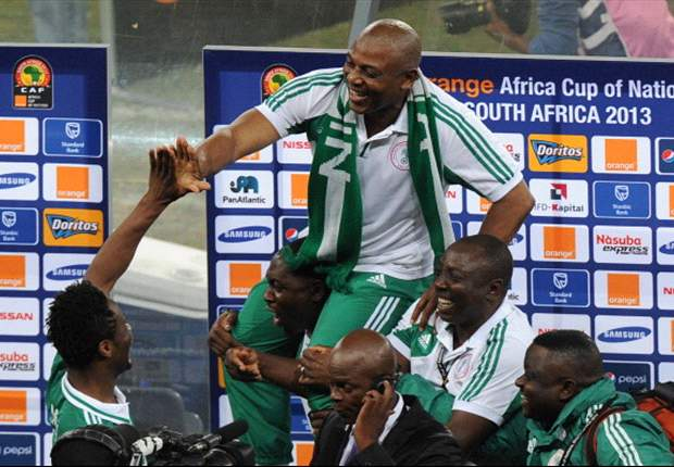 Nigeria coach Keshi talked into withdrawing his resignation
