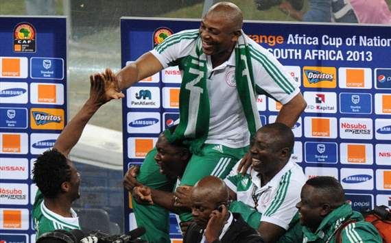 Keshi proud of his players following Africa Cup of Nations triumph