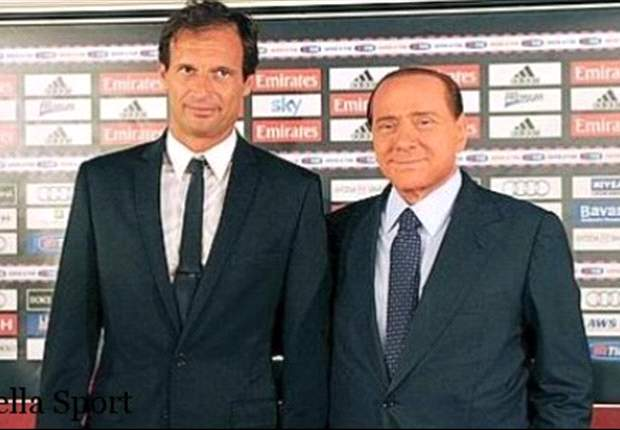 Il destino di Allegri  di non stare mai tranquillo, neanche dopo il trionfo col Bara... Berlusconi gi gli alza l'asticella: &quot;Ora voglio lo Scudetto!&quot;