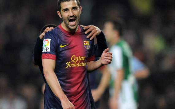 Tottenham launch 12m David Villa bid
