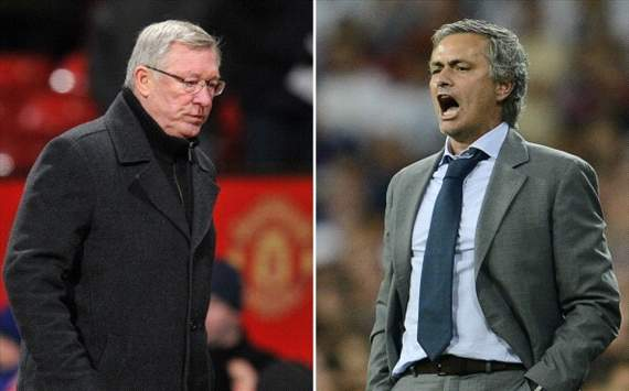 Alex Ferguson (Manchester United), José Mourinho (Real Madrid)