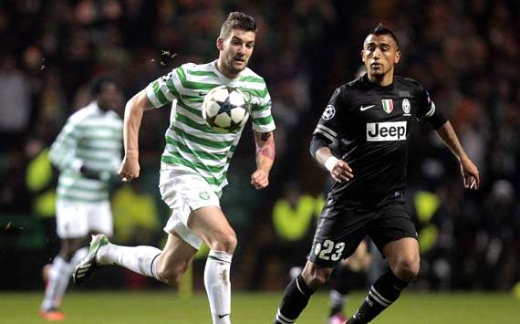 Vidal: Celtic win not as easy for Juventus as result suggests