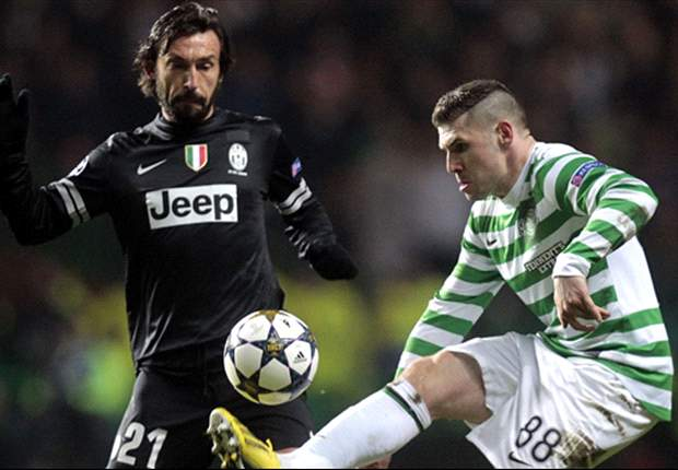 Heartbreak of Liverpool Champions League defeat spurs Pirlo on to finish off Celtic