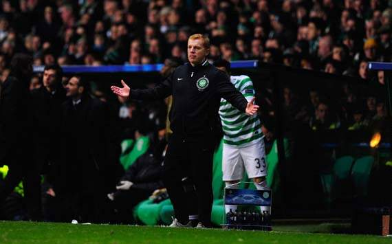 UEFA Champions League, Celtic v Juventus, Neil Lennon