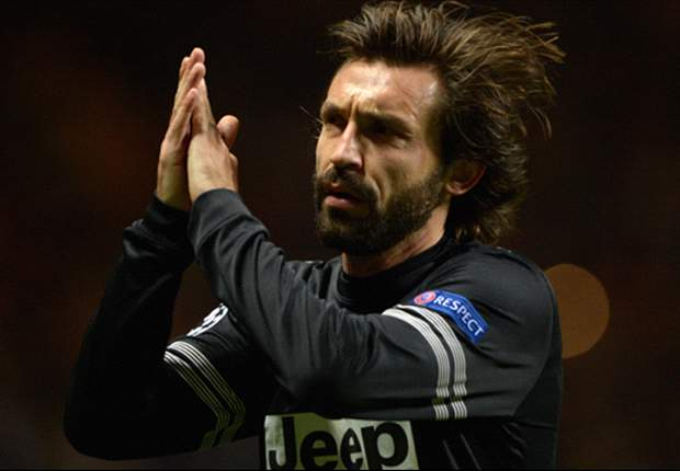 Pirlo: Juventus not ready to win Champions League