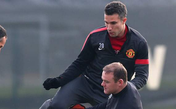 Manchester United handed Van Persie fitness boost ahead of Real Madrid clash