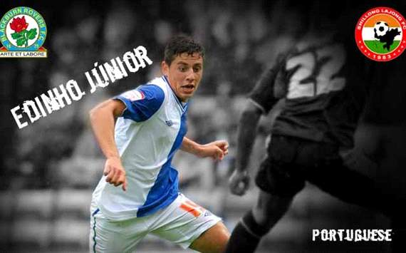 Confirmed: Edinho Junior joins Shillong Lajong on-loan from Blackburn Rovers