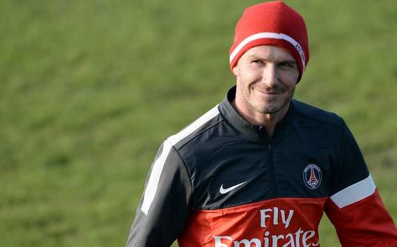 Beckham may start against Marseille, says Ancelotti