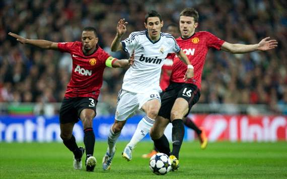 Skor Hasil Pertandingan Real Madrid Vs MU 14/02/2013