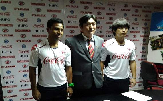 Home United unveil star signing Lee Kwan Woo