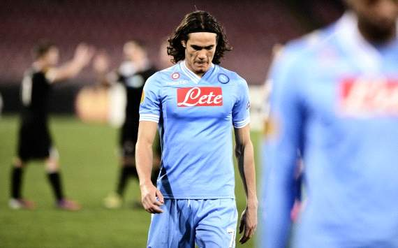 Edinson Cavani - Napoli-Viktoria Plzen