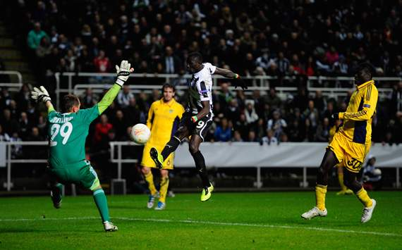 Europa League - Newcastle United FC v FC Metalist Kharkiv,  Papiss Cisse