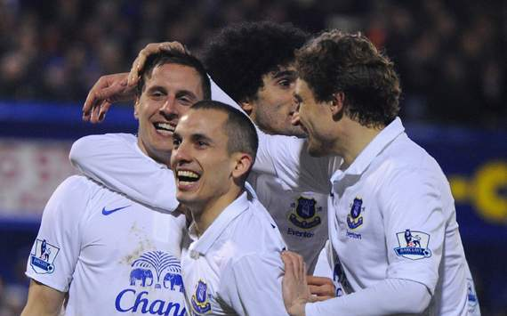FA Cup - Oldham Athletic v Everton, Phil Jagielka