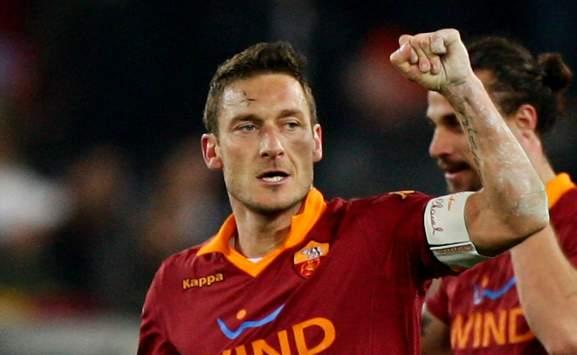 Francesco Totti in Roma-Juventus (Serie A)
