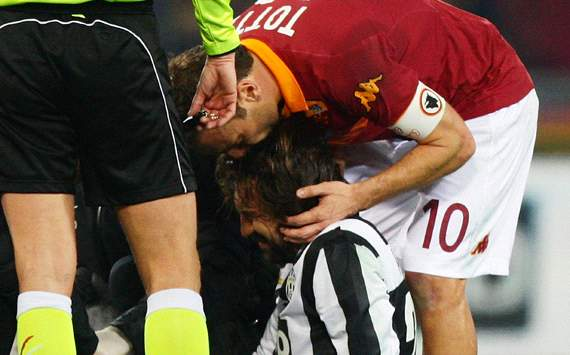 Calcio Debate: What is in a Totti tackle for an Italian Supporter?