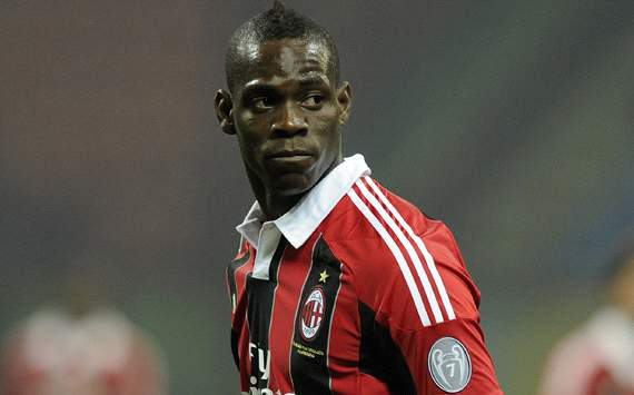Balotelli ruled out of crunch Lazio match