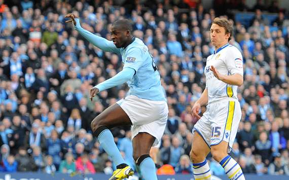 Yaya Toure: Karriereende bei Manchester City nicht ausgeschlossen