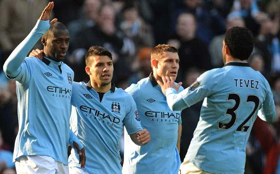 FA Cup; Yaya Toure; James Milner; Carlos Tevez; Manchester City Vs Leeds United