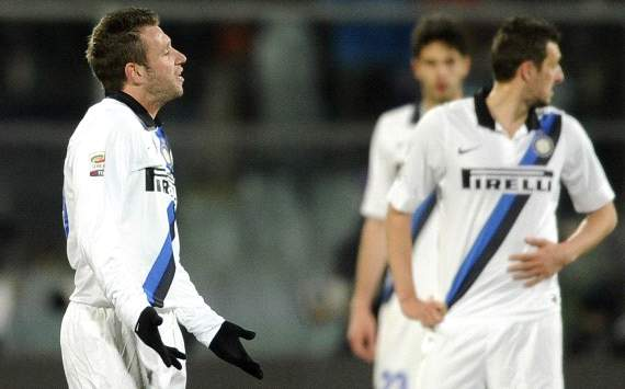 Inter dejection vs Fiorentina