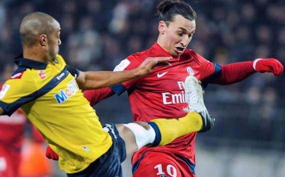 Ligue 1 : Cedric Kante vs Zlatan Ibrahimovic (FC Sochaux vs Paris SG)
