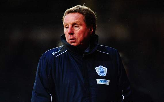 Redknapp targeting 'at least' five wins from QPR's final 10 games