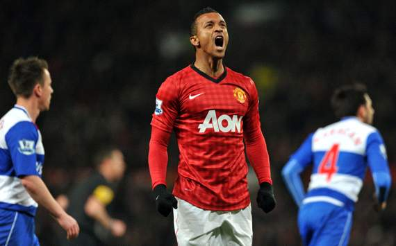 FA Cup, Manchester United v Reading, Nani