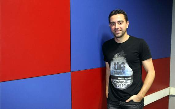 Xavi: I'm in love with Barcelona's playing style