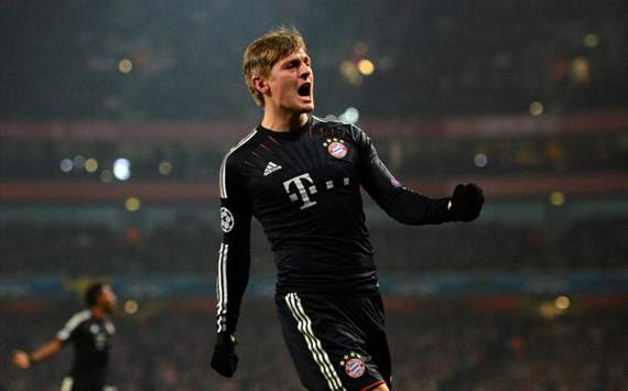 Kroos praises 'outstanding display against a top European team'