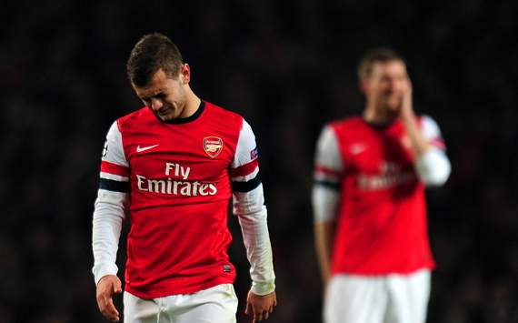 UEFA Champions League - Arsenal v Bayern Munich, Jack Wilshere