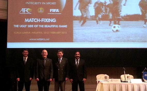 AFC chief Jilong decries match-fixing