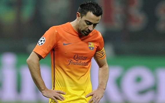 Xavi hoopt op &quot;historische comeback&quot;